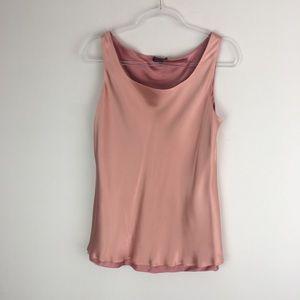 Lafayette 148 Size 8 100% Silk Blouse E28
